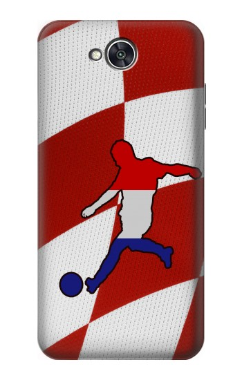 Printed Croatia Football Flag LG X power2 Case