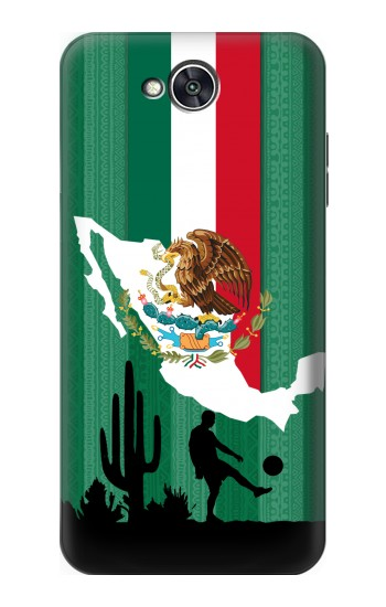 Printed Mexico Football Flag LG X power2 Case