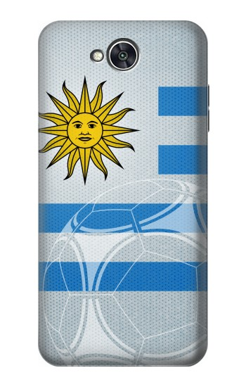 Printed Uruguay Football Flag LG X power2 Case