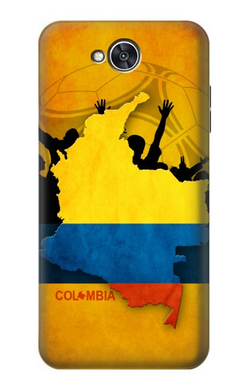 Printed Colombia Football Flag LG X power2 Case
