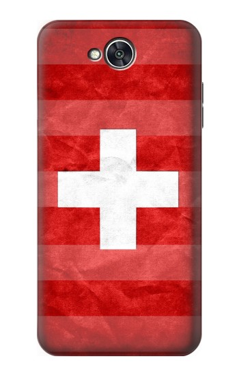Printed Switzerland Football Flag LG X power2 Case
