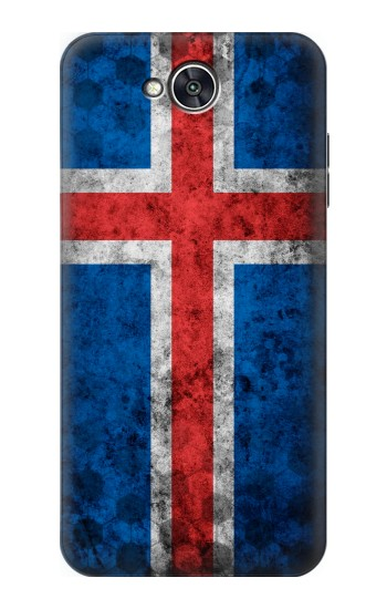 Printed Iceland Football Flag LG X power2 Case