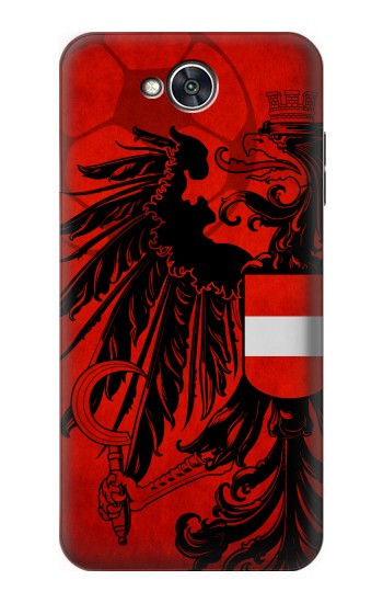Printed Austria Football Flag LG X power2 Case