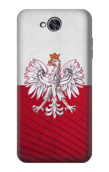 Printed Poland Football Flag LG X power2 Case