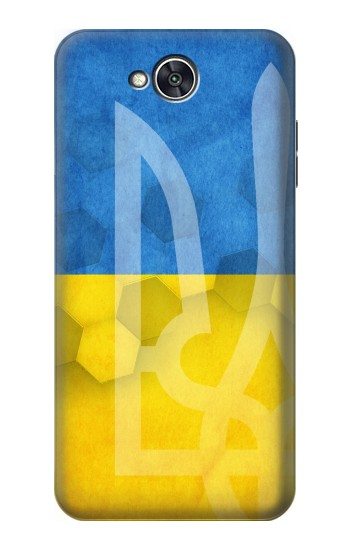Printed Ukraine Football Flag LG X power2 Case