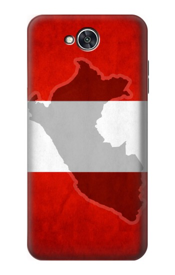 Printed Peru Flag LG X power2 Case