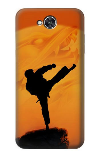 Printed Kung Fu Karate Fighter LG X power2 Case