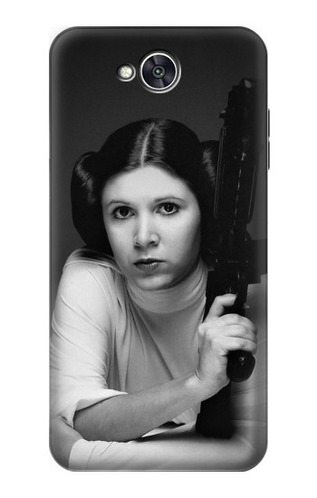 Printed Princess Leia Carrie Fisher LG X power2 Case