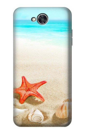 Printed Sea Shells Starfish Beach LG X power2 Case