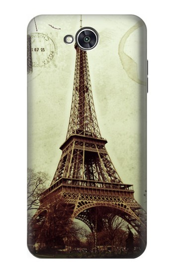 Printed Vintage Tour Eiffel Postcard LG X power2 Case