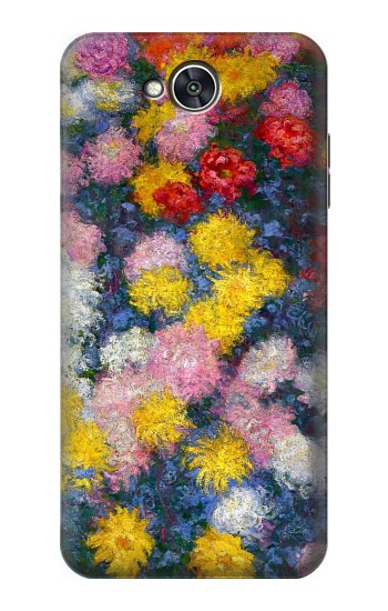 Printed Claude Monet Chrysanthemums LG X power2 Case
