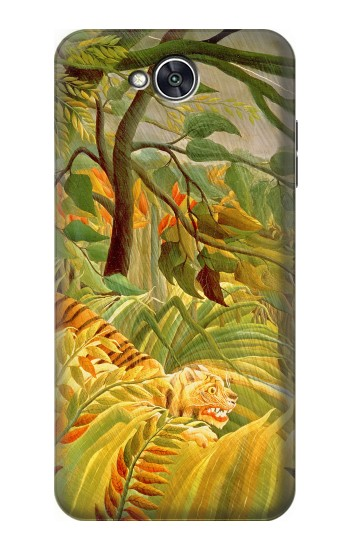 Printed Henri Rousseau Tiger in a Tropical Storm LG X power2 Case