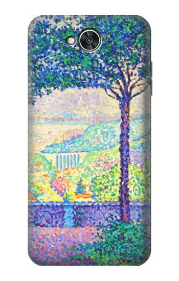 Printed Paul Signac Terrace of Meudon LG X power2 Case