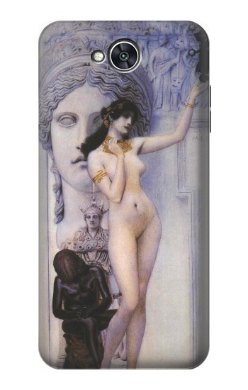 Printed Gustav Klimt Allegory of Sculpture LG X power2 Case