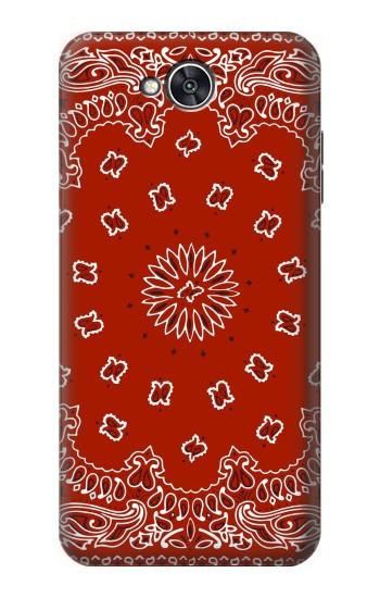 Printed Bandana Red Pattern LG X power2 Case