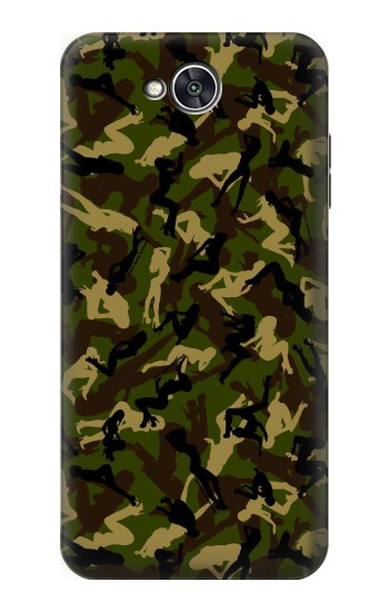 Printed Sexy Girls Camo LG X power2 Case