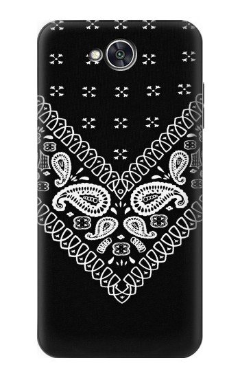 Printed Bandana Black Pattern LG X power2 Case