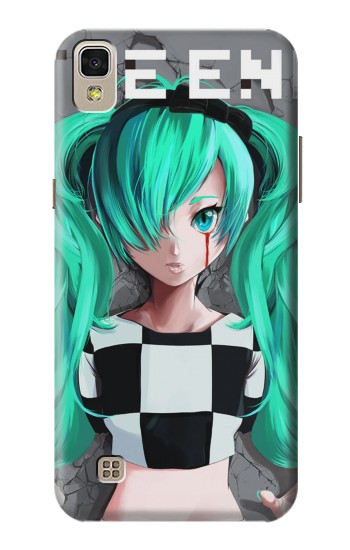 Printed hatsune miku The End LG F70 D315 Case