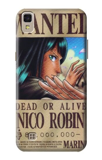 Printed One Piece Nico Robin Wanted Poster LG F70 D315 Case