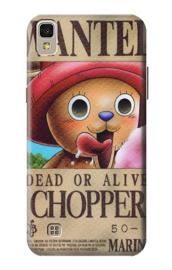 Printed One Piece CHOPPER Wanted Poster LG F70 D315 Case