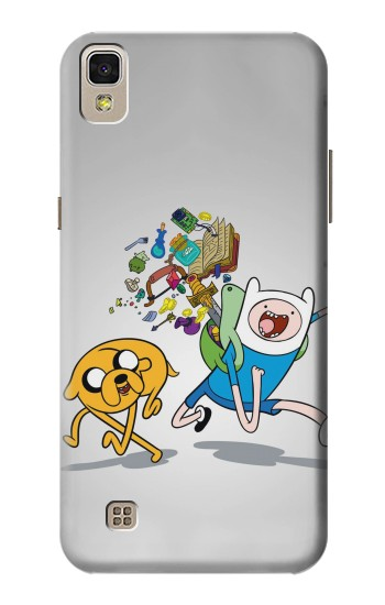 Printed Adventure Time Fin Jeck LG F70 D315 Case