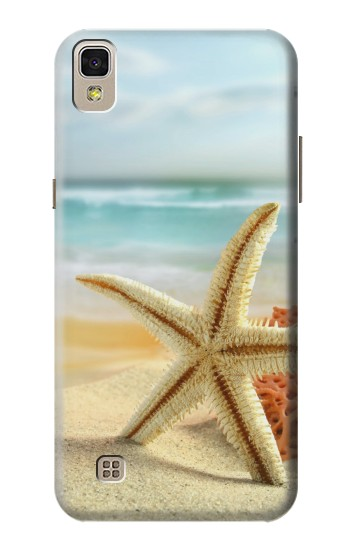 Printed Starfish on the Beach LG F70 D315 Case
