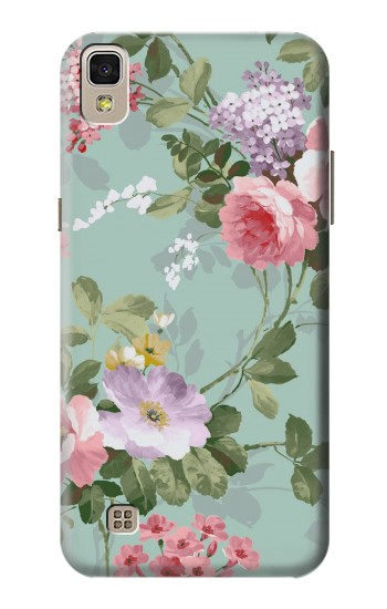 Printed Flower Floral Art Painting LG F70 D315 Case