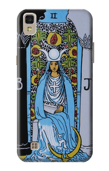 Printed High Priestess Tarot Card LG F70 D315 Case