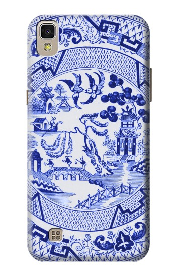 Printed Willow Pattern Illustration LG F70 D315 Case