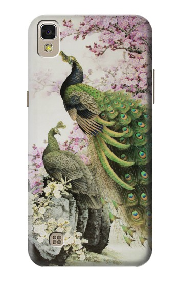 Printed Peacock Chinese Brush Painting LG F70 D315 Case