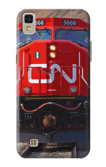 Printed Train Canadian National Railway LG F70 D315 Case
