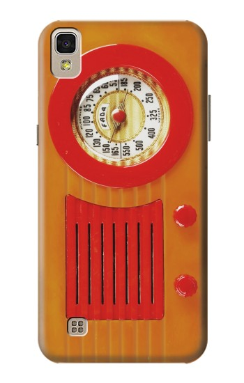 Printed Vintage Bakelite Radio Orange LG F70 D315 Case