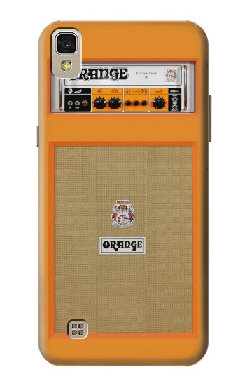 Printed Orange Amplifier LG F70 D315 Case