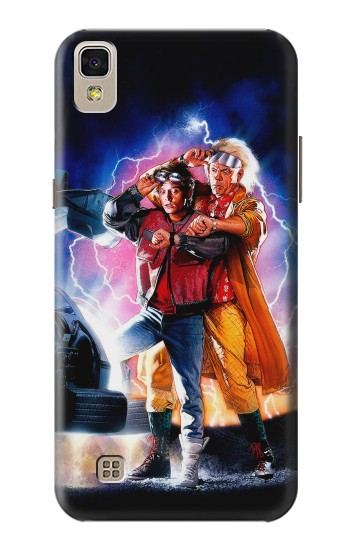 Printed Back to the Future LG F70 D315 Case