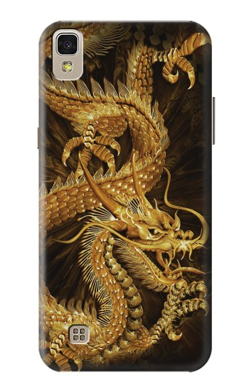 Printed Chinese Gold Dragon Printed LG F70 D315 Case