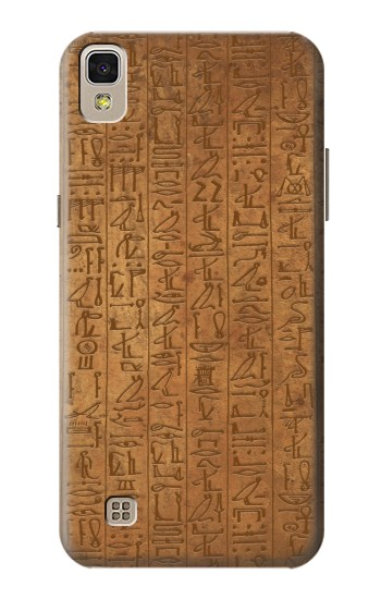 Printed Egyptian Hierogylphics Papyrus of Ani LG F70 D315 Case