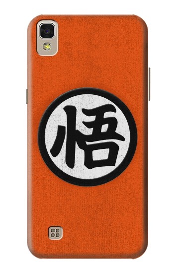 Printed Dragon Ball Z Goku Japan Kanji Symbol Anime Costume LG F70 D315 Case
