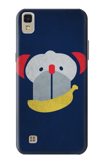 Printed Smiley Monkey Banana Minimalist LG F70 D315 Case