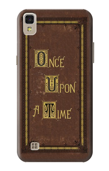 Printed Once Upon a Time Book Cover LG F70 D315 Case