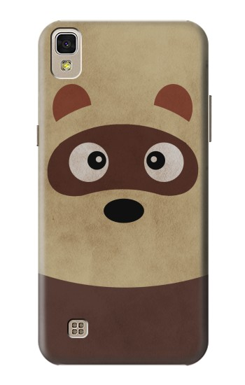 Printed Cute Cartoon Raccoon LG F70 D315 Case