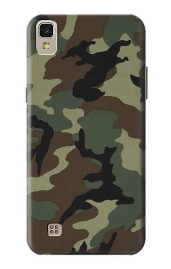 Printed Army Green Woodland Camo LG F70 D315 Case