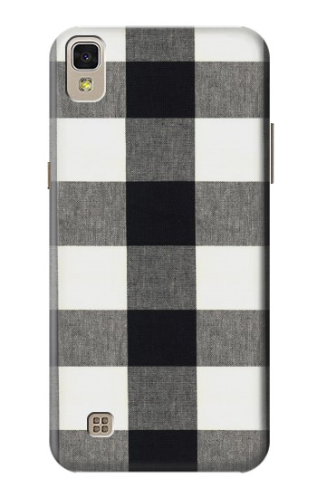 Printed Black and White Buffalo Check Pattern LG F70 D315 Case