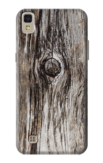 Printed Old Wood Bark Printed LG F70 D315 Case