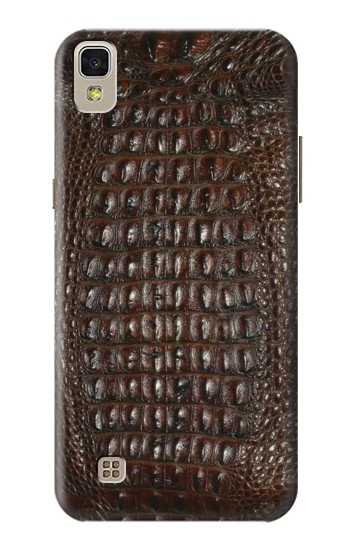 Printed Brown Skin Alligator Graphic Printed LG F70 D315 Case