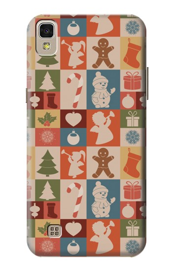 Printed Cute Xmas Pattern LG F70 D315 Case