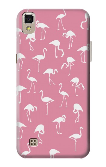 Printed Pink Flamingo Pattern LG F70 D315 Case