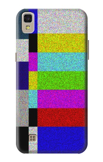 Printed Noise Signal TV LG F70 D315 Case