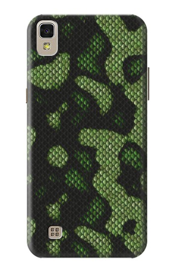 Printed Green Snake Skin Graphic Printed LG F70 D315 Case