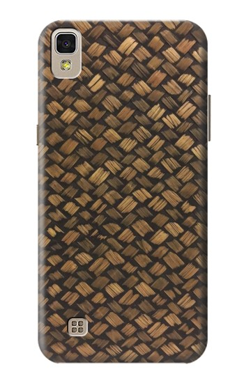 Printed Thai Bamboo Wickerwork LG F70 D315 Case