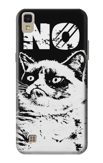 Printed Grumpy Cat No LG F70 D315 Case